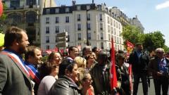 manifestation,syndicats,pcf,cgt,fsu