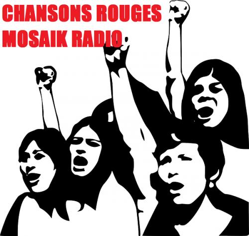 chansons rouge mosaik radio,web radio