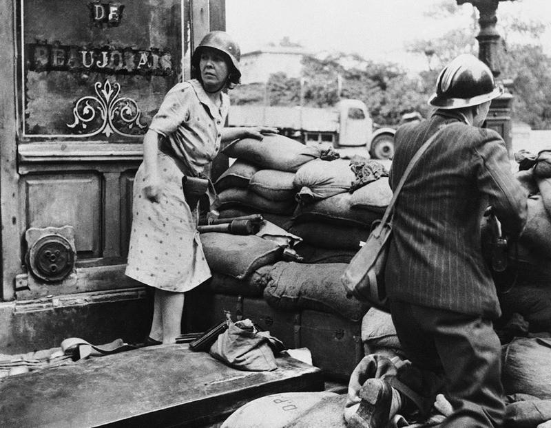 Forces Françaises de l'Intérieur Paris Liberation 1944