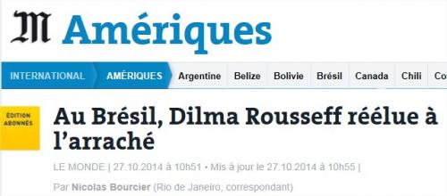 dilma rousseff,presse,hollande