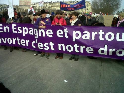 espagne, europe, avortement, manifestations, madrid, ivg, droit à l'avortement