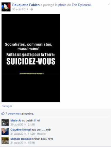 fn,pcf,haine,facebook