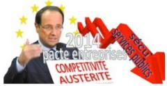 ump, ps, François Hollande, dialogue social, gauche au pouvoir, bilan hollande, cristel coste, jean-louis betoux, pacte de responsabilité, Josée Pépin, Sécrét Lazar,