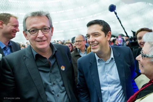 syriza,pierre laurent,pcf
