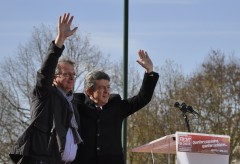 élections 2011-2012, pierre laurent, front de gauche, jean-luc mélenchon, meeting, présidentielle 2012, front de gauche info, grigny,