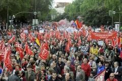 grèce, espagne, europe, austérité, manifestations, cuba, 1er mai, chômage, austérité, cgt, fsu, solidaires, fo, 1er mai, bernadette groison, thierry lepaon, christian mahieux,